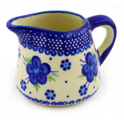 Polish Pottery 10 oz Pitcher | Boleslawiec Stoneware | Polmedia H4901F