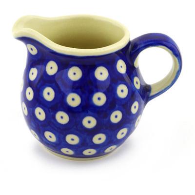Polish Pottery 8 oz Pitcher | Boleslawiec Stoneware | Polmedia H2345F