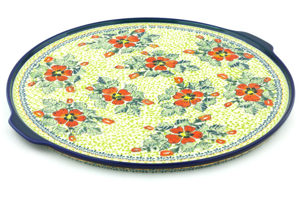 Polish Pottery 17-inch Pizza Plate | Boleslawiec Stoneware | Polmedia H7199H  sc 1 st  Polmedia Polish Pottery & Polish Pottery 17-inch Pizza Plate | Boleslawiec Stoneware ...