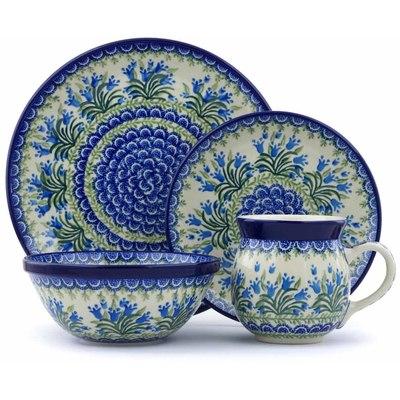 Polish Pottery 10-inch Place Setting   Boleslawiec Stoneware   Polmedia H0723J