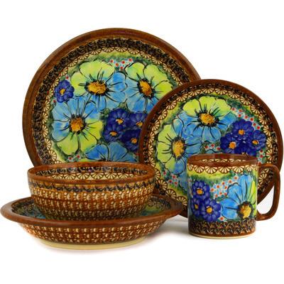 Polish Pottery 10-inch Place Setting | Boleslawiec Stoneware | Polmedia H2546E