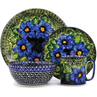 Polish Pottery 10-inch Place Setting | Boleslawiec Stoneware | Polmedia H5520E
