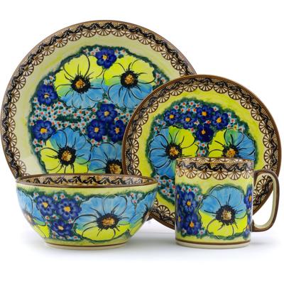 Polish Pottery 10-inch Place Setting | Boleslawiec Stoneware | Polmedia H2564E