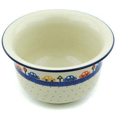 Polish Pottery 8-inch Planter | Boleslawiec Stoneware | Polmedia H6106H