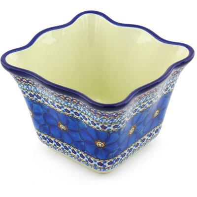 Polish Pottery 7-inch Planter   Boleslawiec Stoneware   Polmedia H6175G