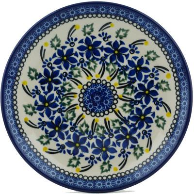 Polish Pottery 8-inch Plate | Boleslawiec Stoneware | Polmedia H0990I