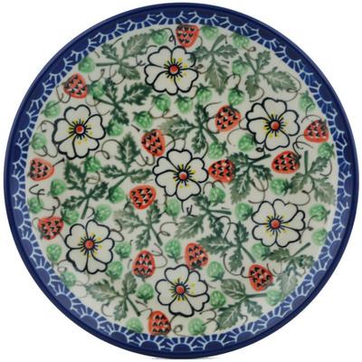 Polish Pottery 8-inch Plate | Boleslawiec Stoneware | Polmedia H0992I