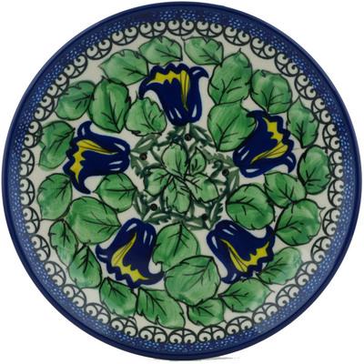 Polish Pottery 8-inch Plate | Boleslawiec Stoneware | Polmedia H0994I