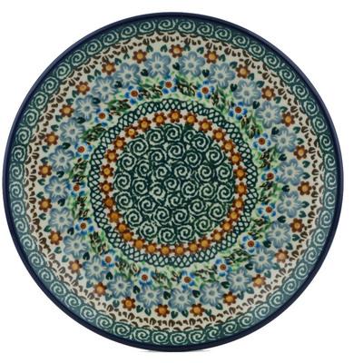 Polish Pottery 8-inch Plate | Boleslawiec Stoneware | Polmedia H1045I