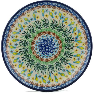 Polish Pottery 8-inch Plate | Boleslawiec Stoneware | Polmedia H1063I
