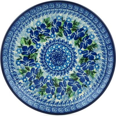 Polish Pottery 8-inch Plate | Boleslawiec Stoneware | Polmedia H1153I