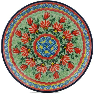Polish Pottery 8-inch Plate | Boleslawiec Stoneware | Polmedia H1179I