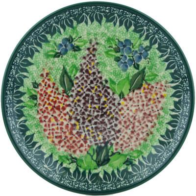 Polish Pottery 8-inch Plate | Boleslawiec Stoneware | Polmedia H1221I