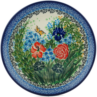 Polish Pottery 8-inch Plate | Boleslawiec Stoneware | Polmedia H1235I