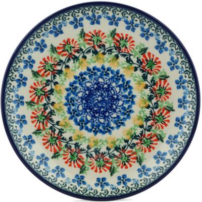 Polish Pottery 8-inch Plate | Boleslawiec Stoneware | Polmedia H1297I