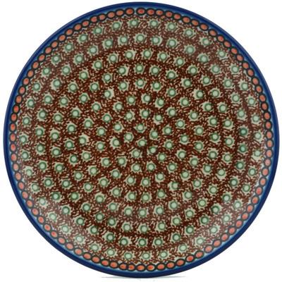 Polish Pottery 8-inch Plate | Boleslawiec Stoneware | Polmedia H1365I