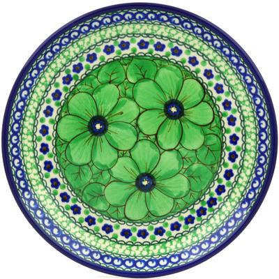 Polish Pottery 8-inch Plate | Boleslawiec Stoneware | Polmedia H8516F