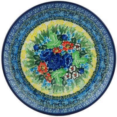 Polish Pottery 8-inch Plate | Boleslawiec Stoneware | Polmedia H1410I