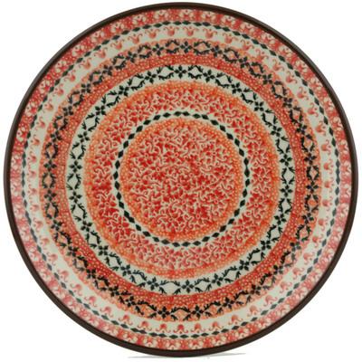 Polish Pottery 8-inch Plate | Boleslawiec Stoneware | Polmedia H1421I