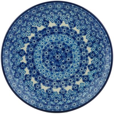 Polish Pottery 8-inch Plate | Boleslawiec Stoneware | Polmedia H1482I