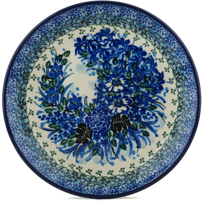 Polish Pottery 8-inch Plate | Boleslawiec Stoneware | Polmedia H1563I