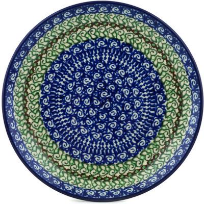 Polish Pottery 8-inch Plate | Boleslawiec Stoneware | Polmedia H2236H