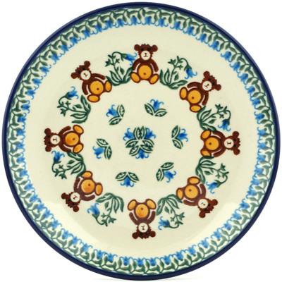 Polish Pottery 8-inch Plate | Boleslawiec Stoneware | Polmedia H0112I
