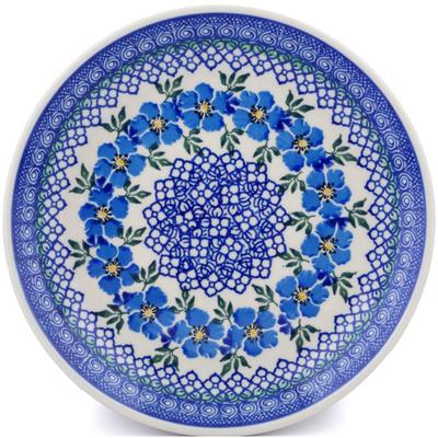 Polish Pottery 8-inch Plate | Boleslawiec Stoneware | Polmedia H2348J
