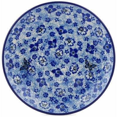 Polish Pottery 8-inch Plate | Boleslawiec Stoneware | Polmedia H9751I