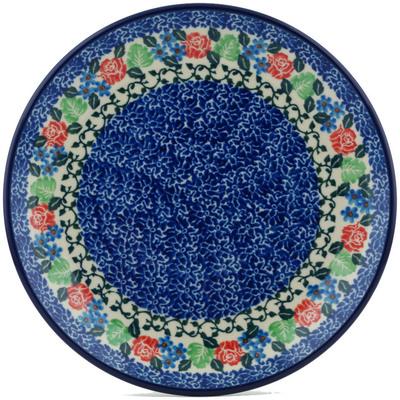 Polish Pottery 8-inch Plate | Boleslawiec Stoneware | Polmedia H0930I