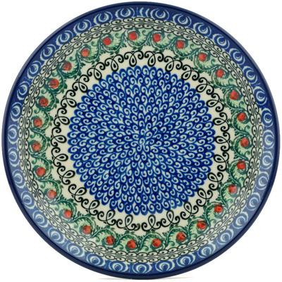 Polish Pottery 8-inch Plate | Boleslawiec Stoneware | Polmedia H5283I