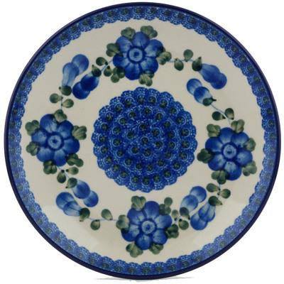 Polish Pottery 8-inch Plate | Boleslawiec Stoneware | Polmedia H3397A