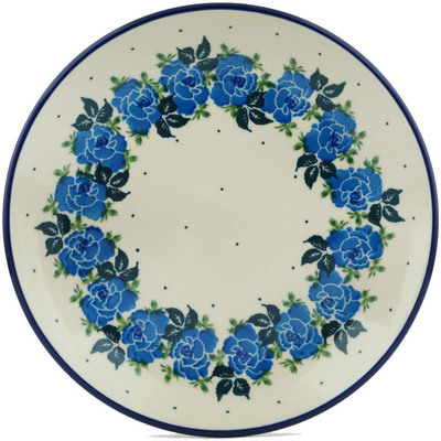 Polish Pottery 8-inch Plate | Boleslawiec Stoneware | Polmedia H1785I
