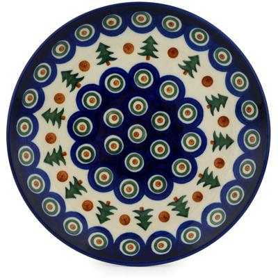 Polish Pottery 8-inch Plate | Boleslawiec Stoneware | Polmedia H8814C