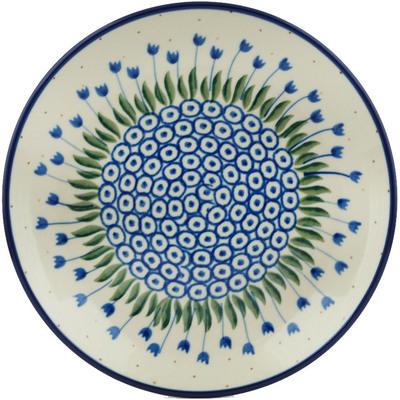 Polish Pottery 8-inch Plate | Boleslawiec Stoneware | Polmedia H0920B