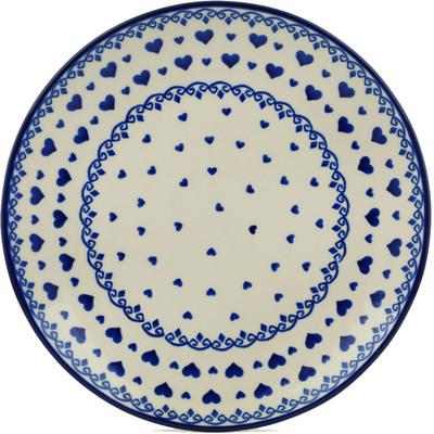 Polish Pottery 10-inch Plate | Boleslawiec Stoneware | Polmedia H2854I
