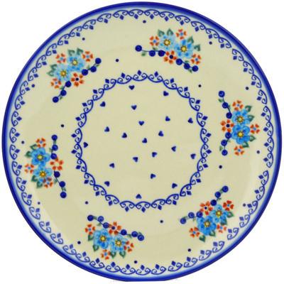 Polish Pottery 10-inch Plate | Boleslawiec Stoneware | Polmedia H5455E