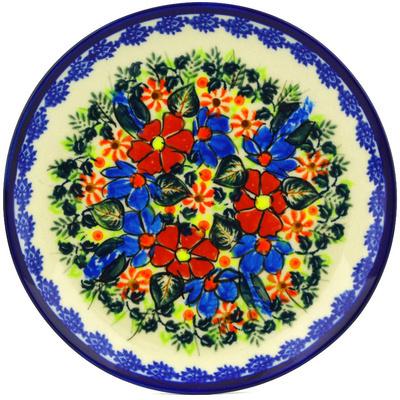 Polish Pottery 7-inch Plate | Boleslawiec Stoneware | Polmedia H6712F