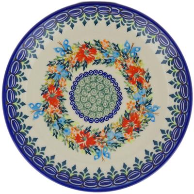 Polish Pottery 7-inch Plate | Boleslawiec Stoneware | Polmedia H1259H