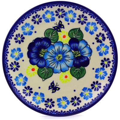 Polish Pottery 7-inch Plate | Boleslawiec Stoneware | Polmedia H0130J