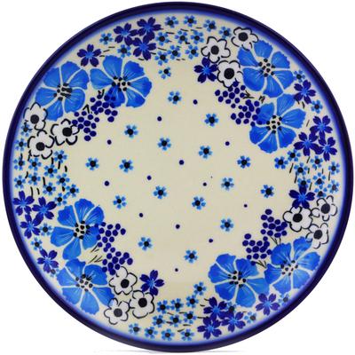 Polish Pottery 7-inch Plate   Boleslawiec Stoneware   Polmedia H0131J