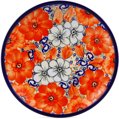 Polish Pottery 7-inch Plate | Boleslawiec Stoneware | Polmedia H0132J