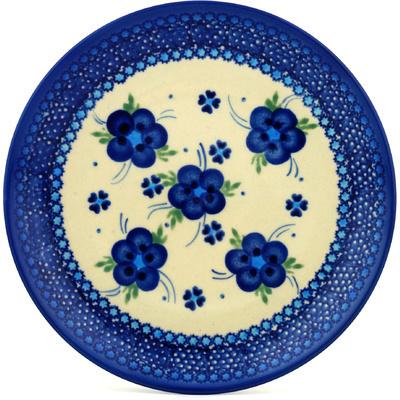 Polish Pottery 7-inch Plate | Boleslawiec Stoneware | Polmedia H0384C