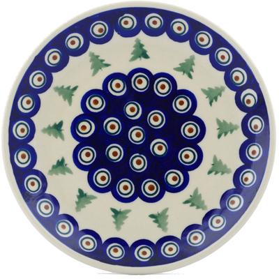 Polish Pottery 7-inch Plate | Boleslawiec Stoneware | Polmedia H8821E