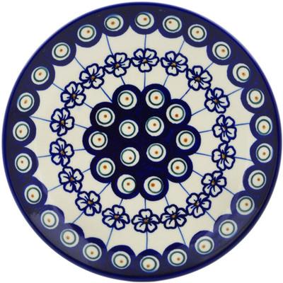 Polish Pottery 7-inch Plate | Boleslawiec Stoneware | Polmedia H0933F