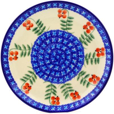 Polish Pottery 7-inch Plate | Boleslawiec Stoneware | Polmedia H0475C