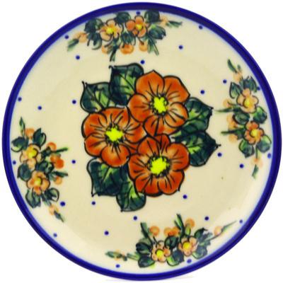 Polish Pottery 7-inch Plate | Boleslawiec Stoneware | Polmedia H1952G