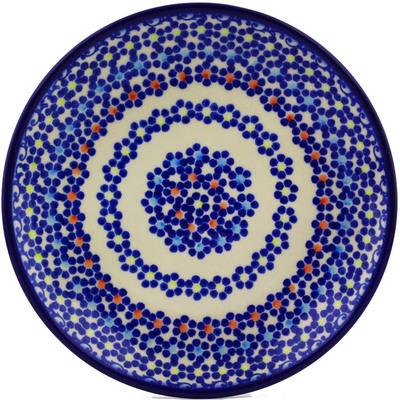 Polish Pottery 7-inch Plate   Boleslawiec Stoneware   Polmedia H7318I