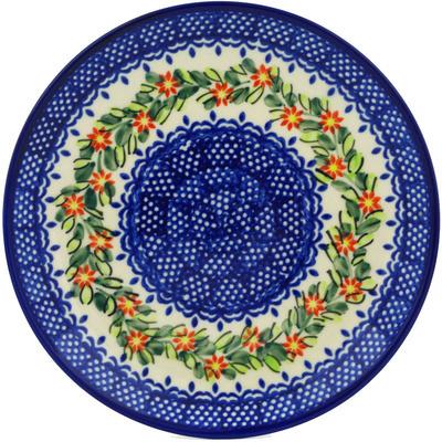 Polish Pottery 7-inch Plate | Boleslawiec Stoneware | Polmedia H0470H