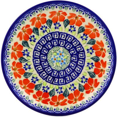 Polish Pottery 7-inch Plate | Boleslawiec Stoneware | Polmedia H7358I